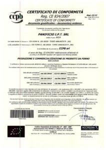 CERTIFICATO DI CONFORMITA'_Pagina_1